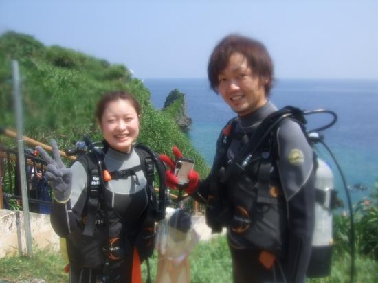 立石様:青の洞窟体験ダイビングコースのご紹介