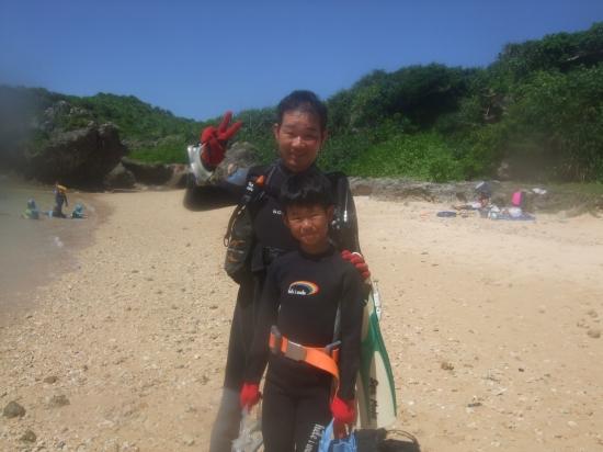 大橋様:沖縄体験ダイビングコースのご紹介