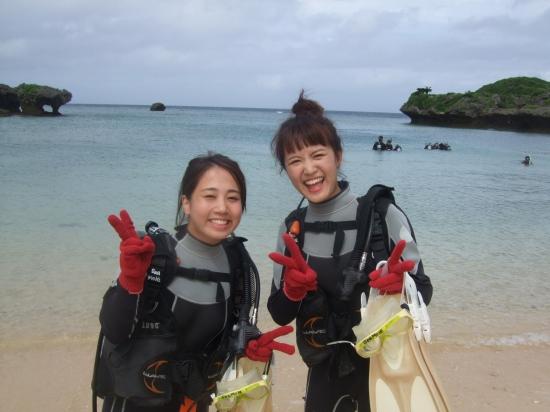 北川様:沖縄体験ダイビングコースのご紹介